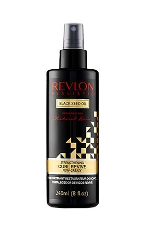 [Revlon-box#17] Black Seed Oil Curl Revive Spray (8 oz)