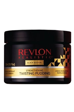 [Revlon-box#19] Black Seed Oil Twisting Pudding (10.1 oz)