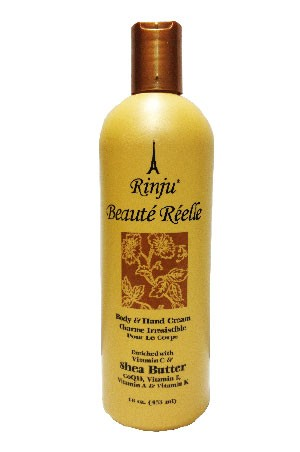 [Rinju-box#7] Beaute Reelle Body & Hand Creme (16 oz)