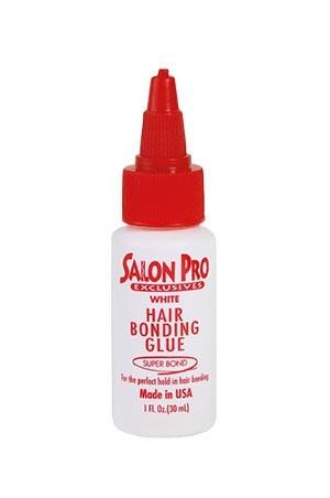 [Salon Pro-box#83] Hair Bonding Glue -White (1 oz)