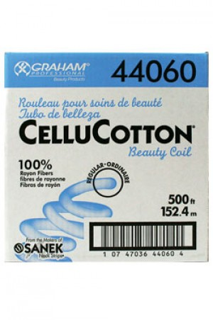 [Sanek-#44060] Cellu Cotton Beauty Coil -100% Rayon Fiber - Regular (500ft) -bx