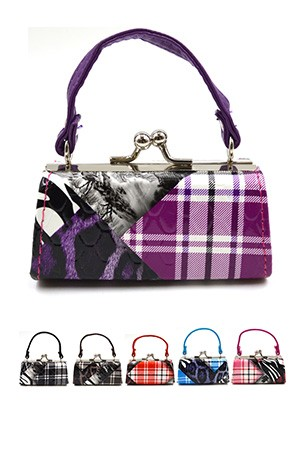 Coin Mini Purse w/ Handle (Asst) #SB10A36 - pc
