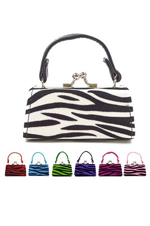 Coin Mini Purse w/ Handle (Asst) #SB10A79 - pc