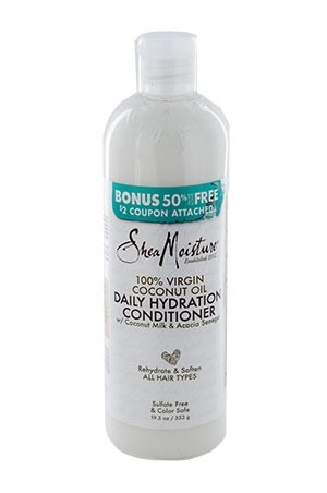 [Shea Moisture-box#105B] 100% Virgin Coconut Oil Conditioner(19.5 oz)