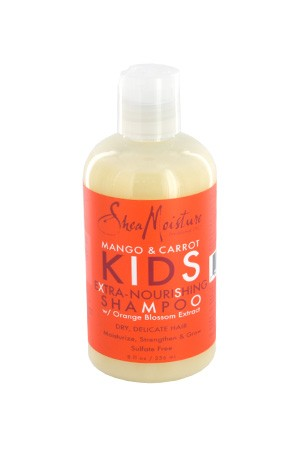 [Shea Moisture-box#81] Kids Mango & Carrot Shampoo (8oz)