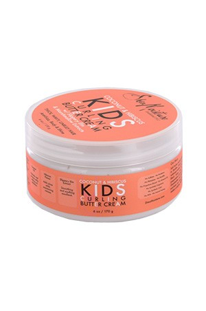 [Shea Moisture-box#84] Kids Coconut &Hibsicus Curling Cream(6oz)