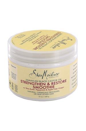 [Shea Moisture-box#85] Jamaican Strengthen & Restore Smoothie (12 oz)