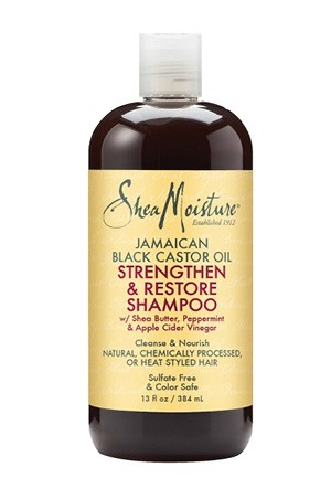 [Shea Moisture-box #89] Jamaican Strengthen&Restore Shampoo (13 oz)