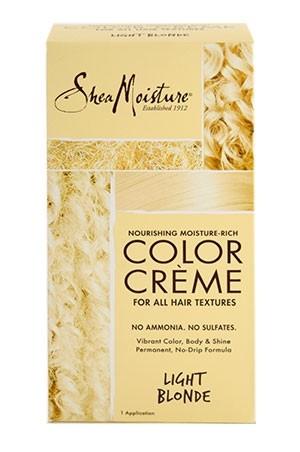 [Shea Moisture-BOX#93] Moisture-Rich Color Creme Kit #Light Blonde