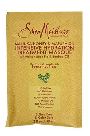 [Shea Moisture-BOX#98] Manuka Honey Masque Pack-Extra Dry Hair [12 pk/ds]-ds