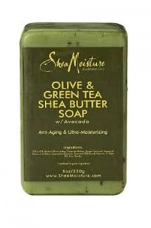 [Shea Moisture-box#5] Olive & Green Tea Shea Butter Soap (8oz)