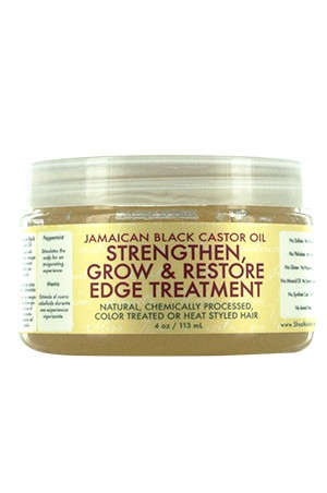 [Shea Moisture-box#64]  Jamaican Edge Treatment (4oz)