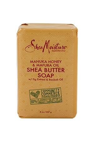 [Shea Moisture-box#116] Manuka Honey &Mafura Oil  Shea Butter Soap (8 oz)