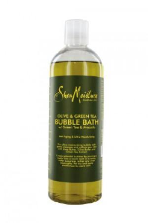 [Shea Moisture-box#8] Olive & Green Tea Bubble Bath (16oz)