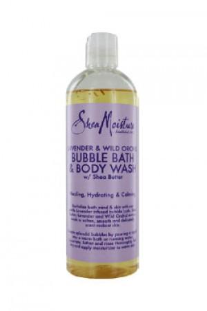 [Shea Moisture-box#12] Lavender & Wild Or chid Bubble Bath (16oz)