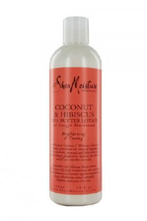 [Shea Moisture-box#26] Coconut & Hibiscus Shea Butter Lotion (13oz)