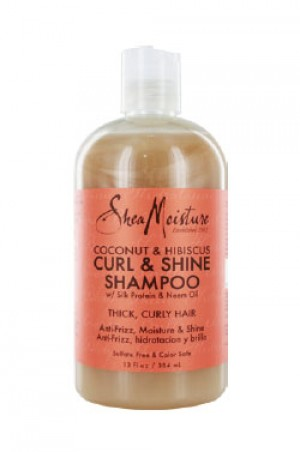 [Shea Moisture-box#29] Coconut & Hibiscus Shampoo (13oz)