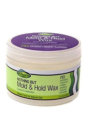 [Sofn'free-box#36] Nothing But Mold&Hold Wax (8.8 oz)