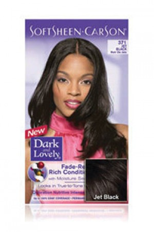 [Dark & Lovely-box#4] Soft Sheen Carson-#371 Jet Black