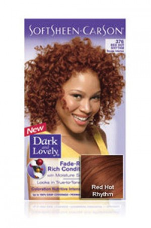 [Dark & Lovely-box#4] Soft Sheen Carson-#376 Red Hot Rhythm