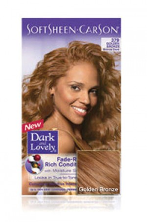 [Dark & Lovely-box#4] Soft Sheen Carson-#379 Golden Bronze