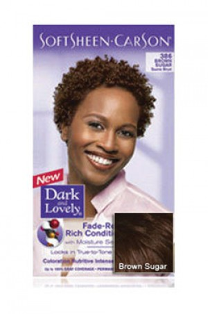 [Dark & Lovely-box#4] Soft Sheen Carson-#386 Brown Sugar