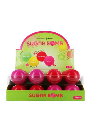 Sugar Bomb Moisture Lip Balm -pc