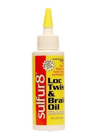 [Sulfur 8-box#13] Lock Twist & Braid Oil (4 oz)