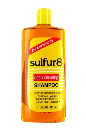 [Sulfur 8-box#8] Medicated Shampoo (11.5 oz)
