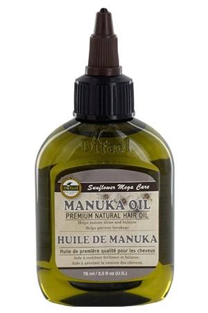 [Sunflower-box#52] Difeel Premium Natural Hair Oil (2.5 oz)-Manuka