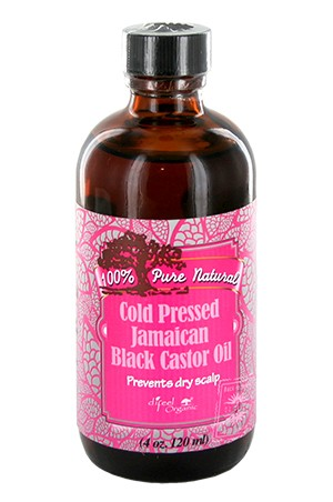 [Sunflower-box#28] Cold Pressed  Jamaican Castor Oil (4oz)
