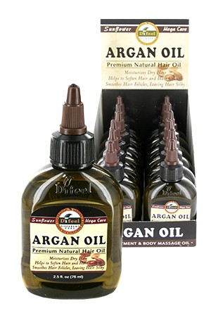 [Sunflower-box#39] Diffel Premium Natural Hair Oil (2.5oz)-Argan