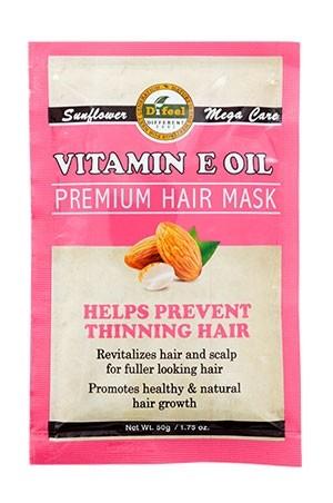 [Sunflower-box#65] Difeel Premium Hair Mask (1.75/12pc/ds) - Vitamin EOil