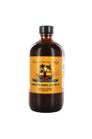 [Sunny Isle Jamaican Black Castor Oil-box#6] Regular 8oz