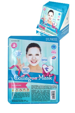 [Sylphkiss - #SK901M021] Collagen Mask (0.8 oz) -pc