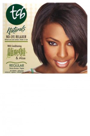 [Tcb-box#1] Olive Oil No-Lye Relaxer Regular (1 Application)