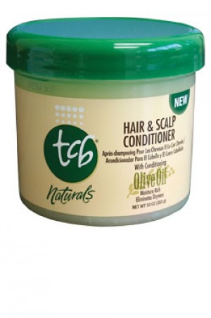 [Tcb-box#8] Olive Oil Hair & Scalp Conditioner (10 oz)