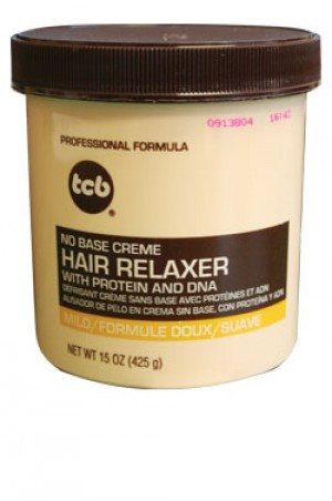 [Tcb-box#13] No Base Creme Hair Relaxer with Protein and DNA Mild (15 oz)