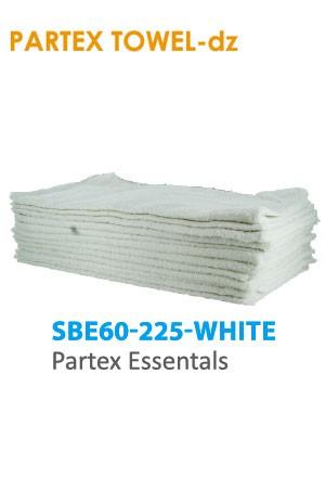 Partex Essentals Towel #SBE60-225 White -dz