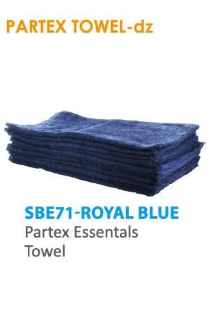 Partex Essentals Towel #SBE71 Royal Blue -dz