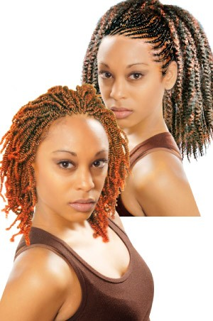 Synthetic Twin Afro Twist Braids