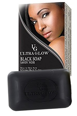 [Ultra Glow-box#13]  Black Soap (100 g)