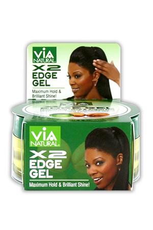 [Via Natural-BOX#71] Argan&Olive Oils X2 Edge Gel (2.25oz)