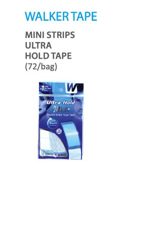 [Walker Tape-box#36] Mini Strips Ultra Hold Tape (72/bag)