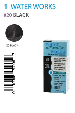 [Water Works-box#1] #20 Black (0.21oz)