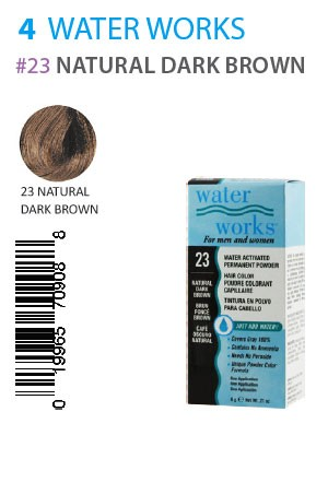 [Water Works-box#4] #23 Natural Dark Brown (0.21oz)