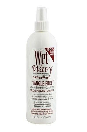 [Wet'n Wavy-box#1B] Tangle Free Leave-In Conditioner (12 oz)