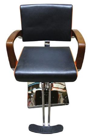 SALON CHAIR Y113 Black & Orange