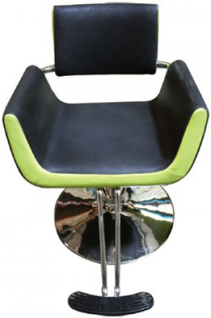SALON CHAIR Y119 Black & Lime