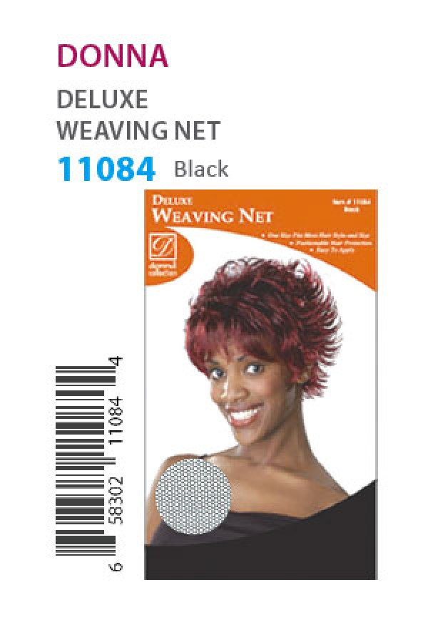 Donna 11084 Weaving Net Black Dz Wigweaveliner Cap Caps